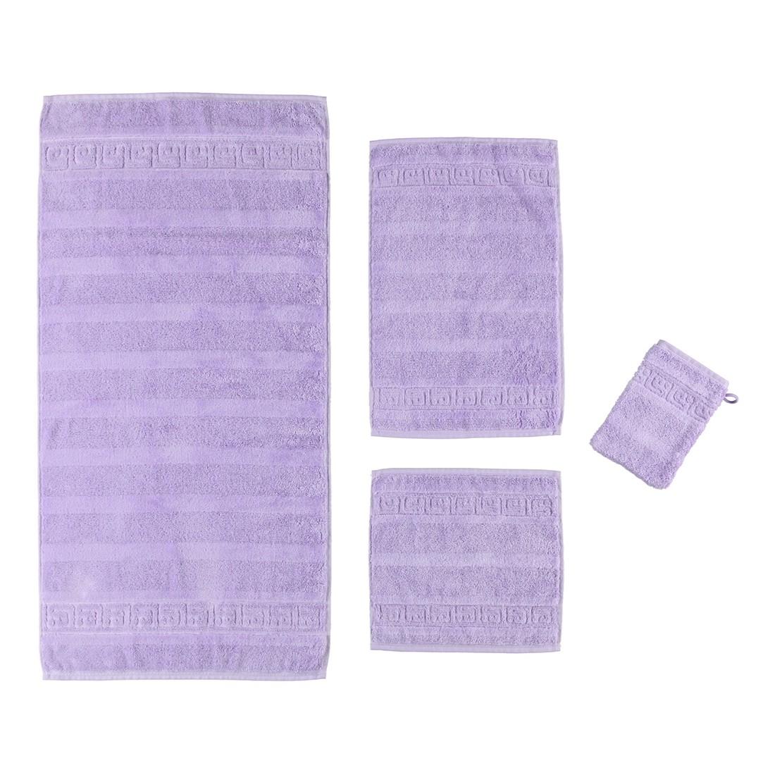 Handtuch Noblesse – 100% Baumwolle flieder – 825 – Handtuch: 60 x 110 cm, Cawö günstig bestellen