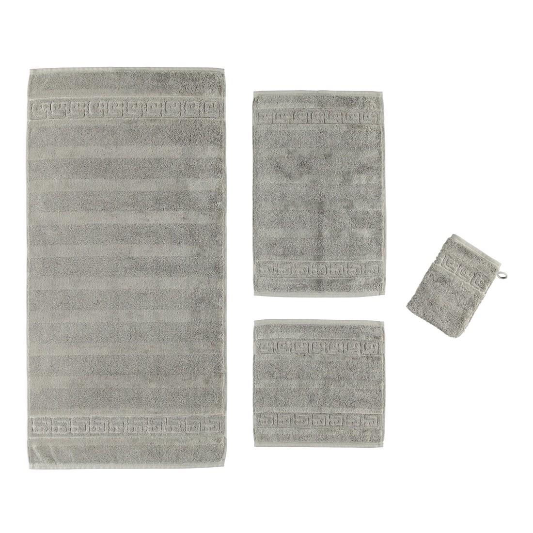 Handtuch Noblesse – 100% Baumwolle graphit – 779 – Duschtuch: 80 x 160 cm, Cawö günstig online kaufen