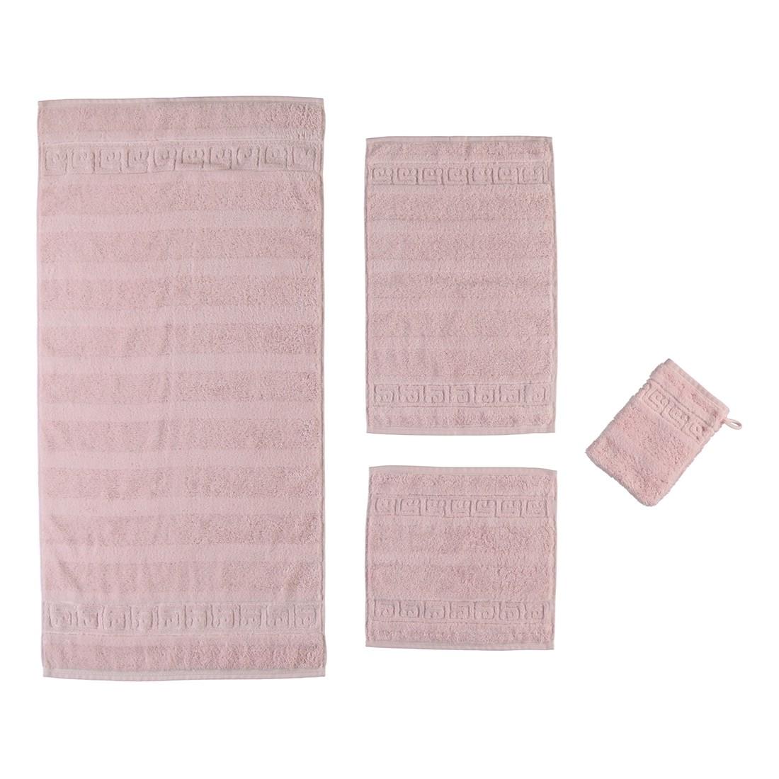 Handtuch Noblesse – 100% Baumwolle puder – 232 – Duschtuch: 80 x 160 cm, Cawö kaufen