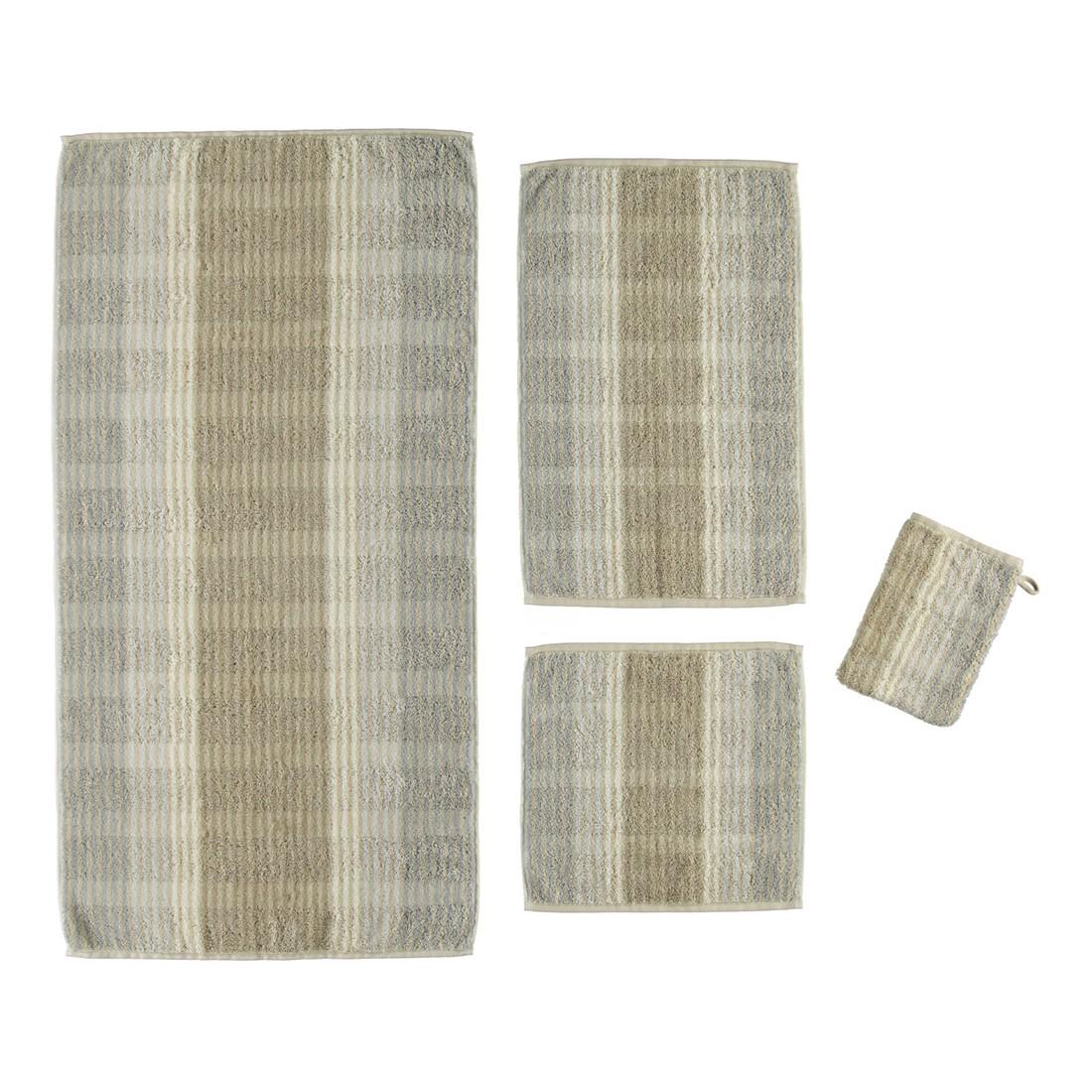 Handtuch Noblesse Cashmere Streifen 1056 – 100% Baumwolle Sand – 33 – Duschtuch: 80 x 150 cm, Cawö jetzt kaufen