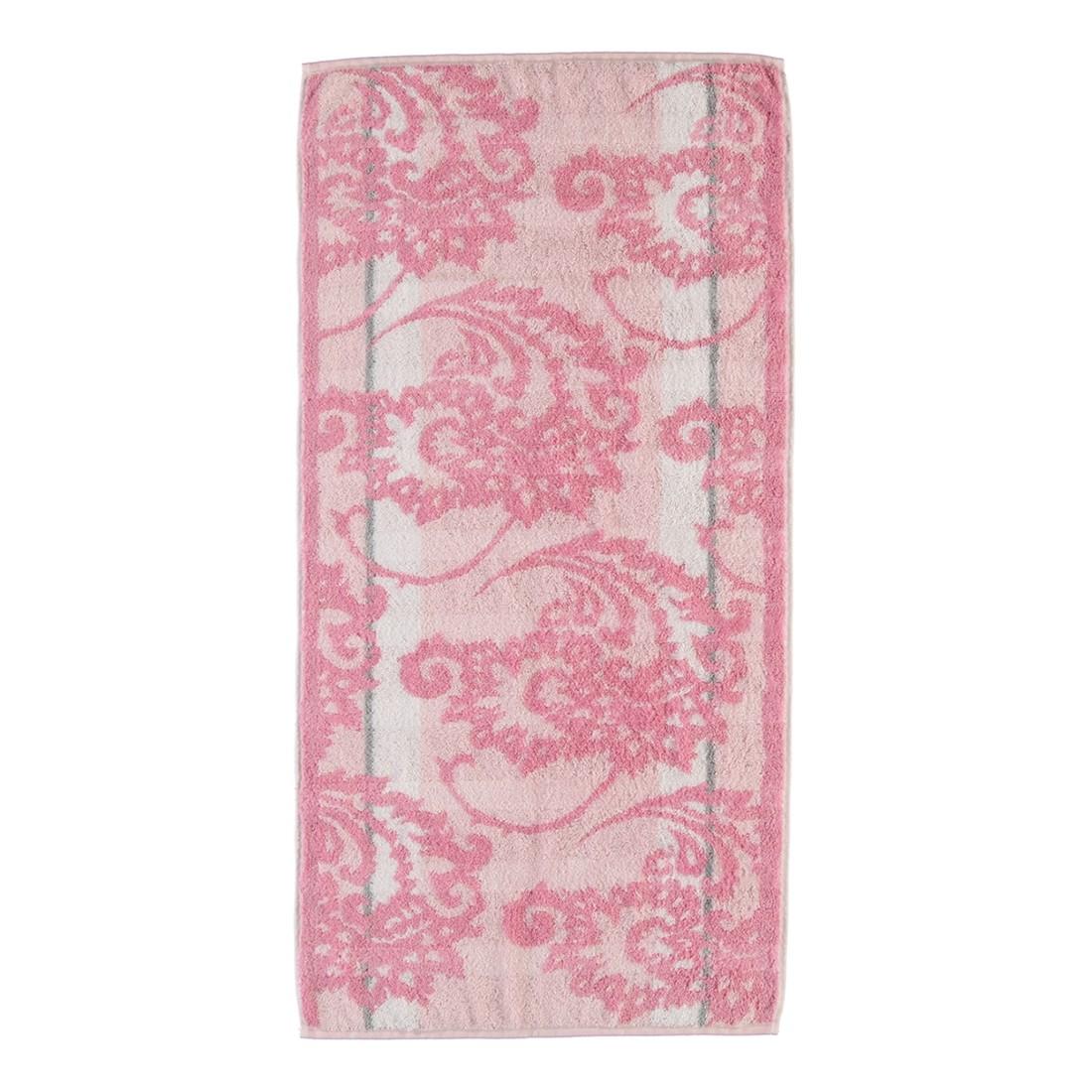 Handtuch Noblesse Perlmutt – 100% Baumwolle puder – 22 – Handtuch: 50 x 100 cm, Cawö bestellen