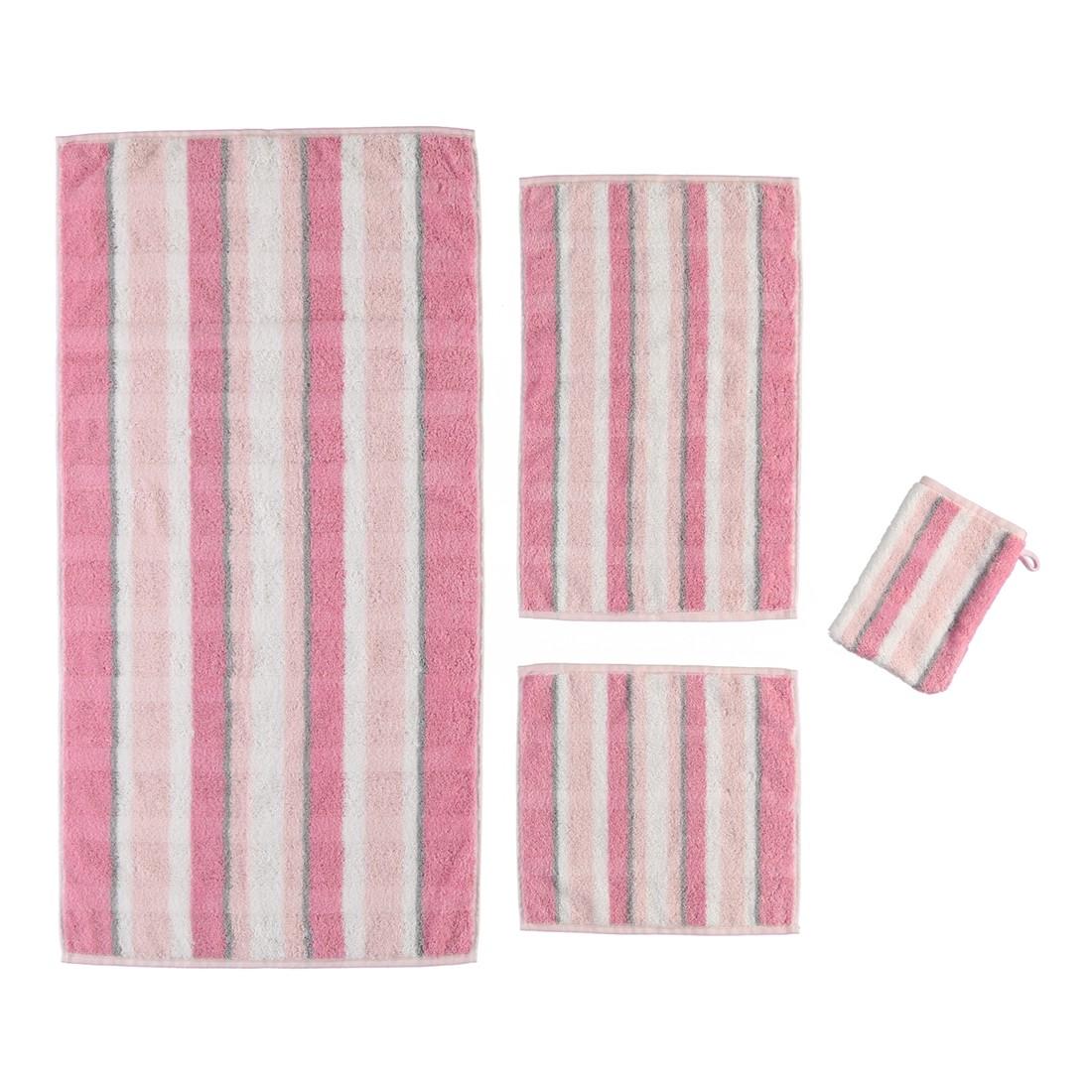 Handtuch Noblesse Perlmutt – 100% Baumwolle puder – 22 – Seiflappen: 30 x 30 cm, Cawö online bestellen