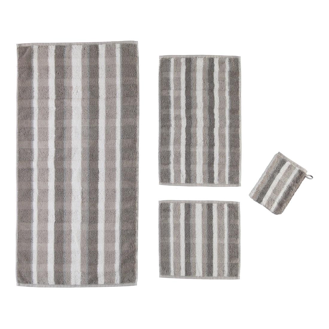 Handtuch Noblesse Perlmutt – 100% Baumwolle taupe – 33 – Handtuch: 50 x 100 cm, Cawö bestellen