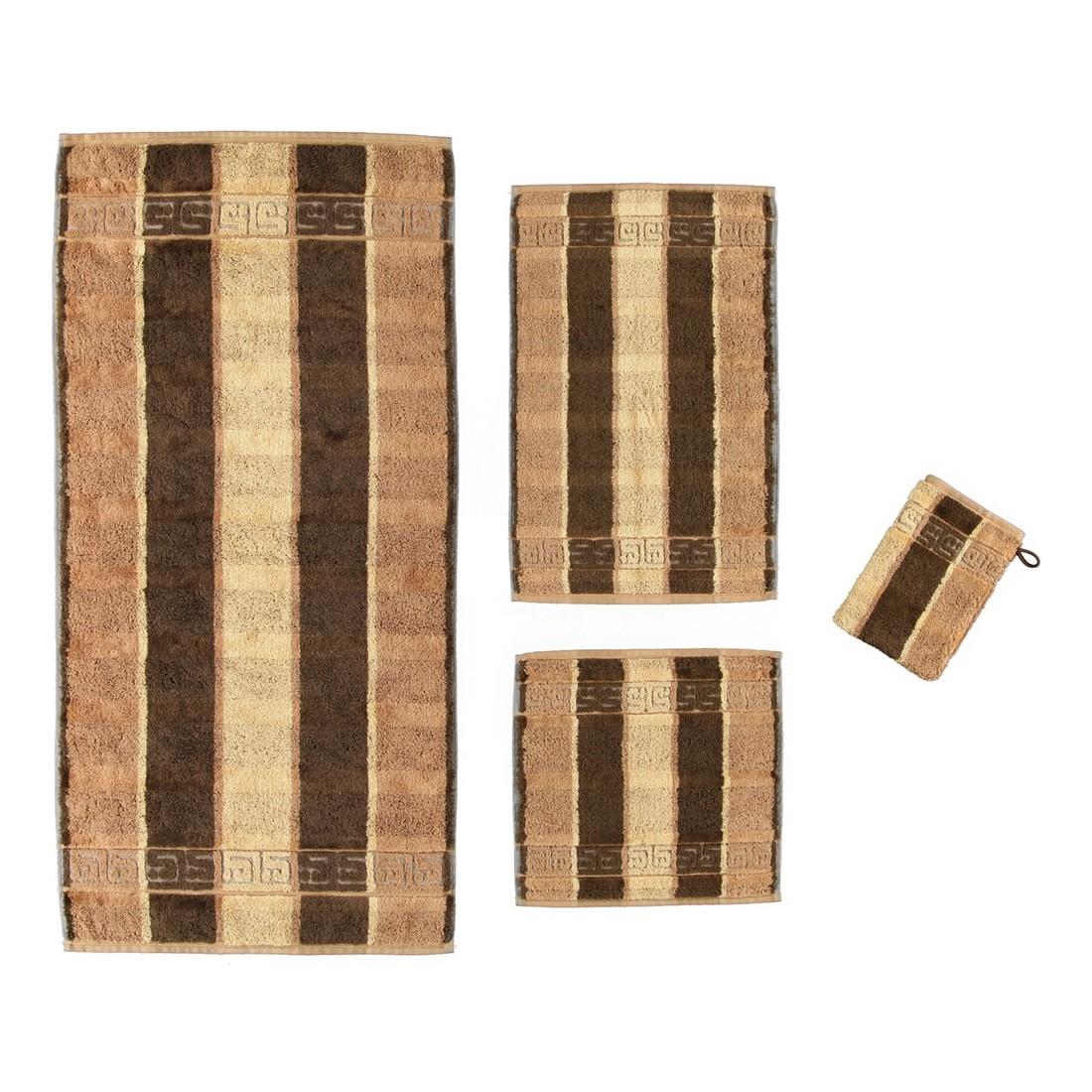Handtuch Noblesse Streifen – 100% Baumwolle brazil – 33 – Gästetuch: 30 x 50 cm, Cawö günstig kaufen