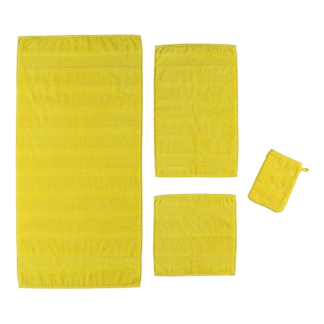 Handtuch Noblesse2 – 100% Baumwolle Gelb – 510 – Handtuch: 50 x 100 cm, Cawö online kaufen