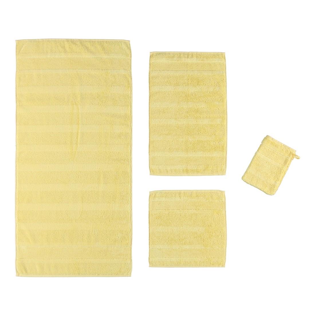 Handtuch Noblesse2 – 100% Baumwolle vanille – 586 – Duschtuch: 80 x 160 cm, Cawö jetzt bestellen