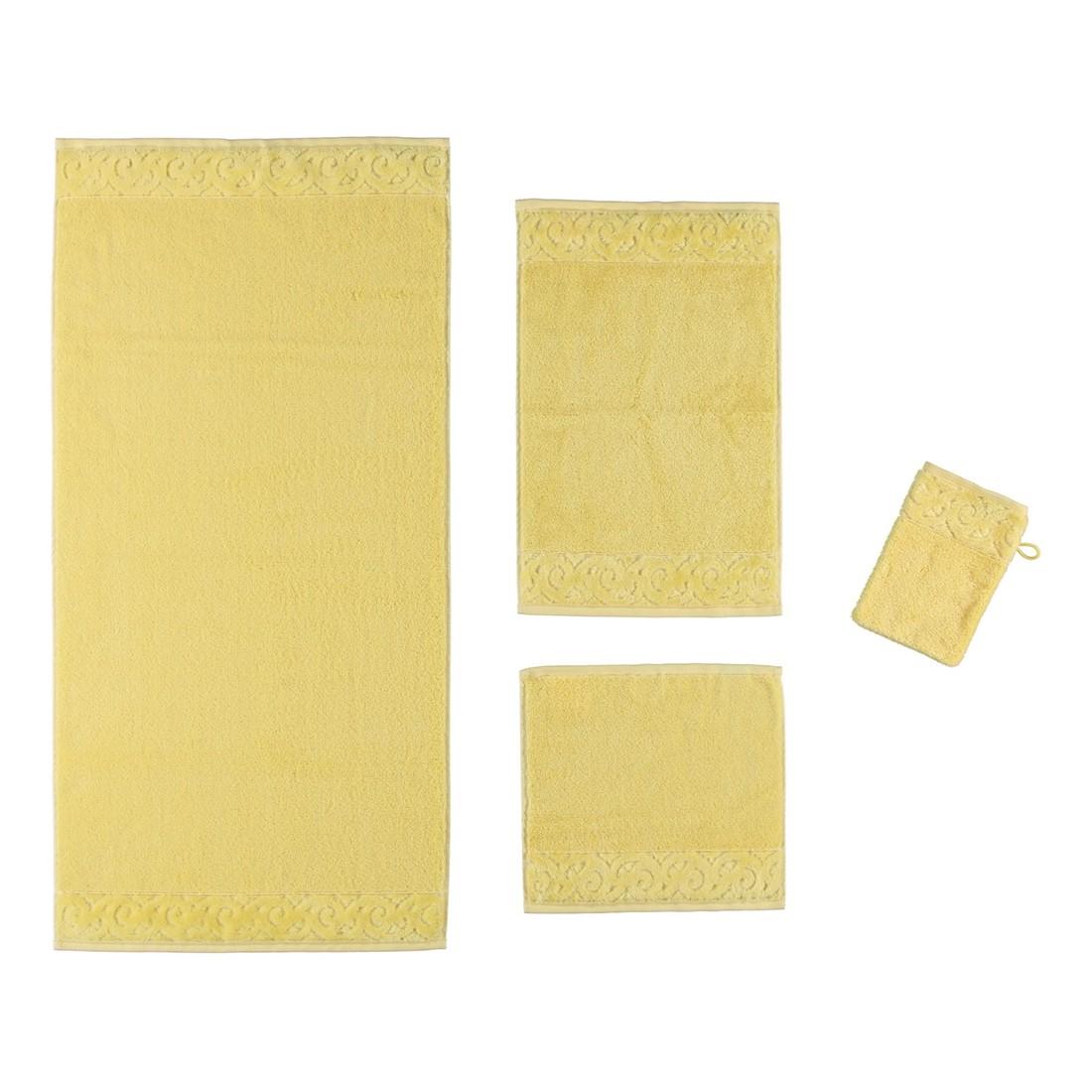 Handtuch Paris Supersoft – 100% Baumwolle citro – 130 – Gästetuch: 30 x 50 cm, Vossen online kaufen