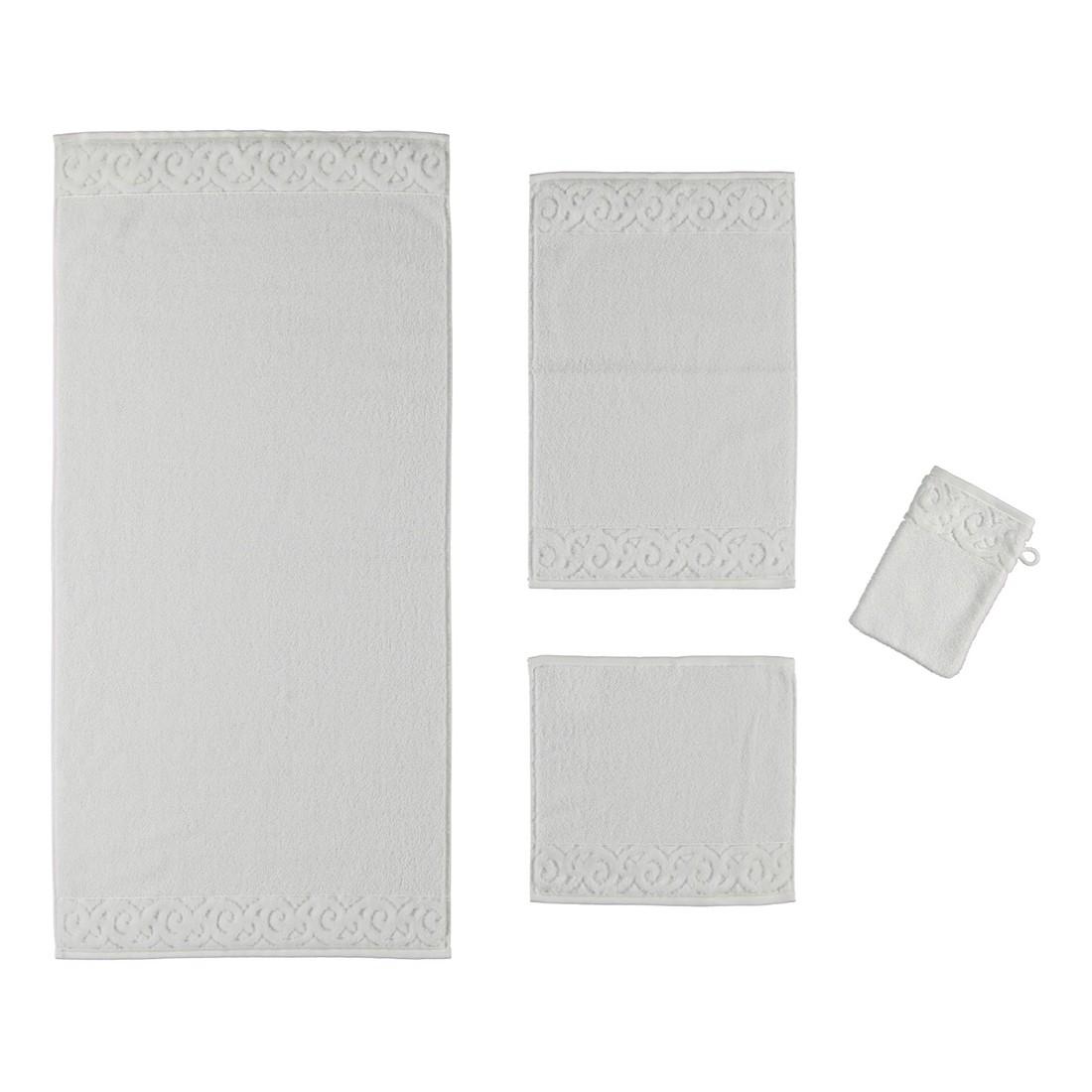 Handtuch Paris Supersoft – 100% Baumwolle Weiß – 030 – Badetuch: 100 x 150 cm, Vossen jetzt bestellen
