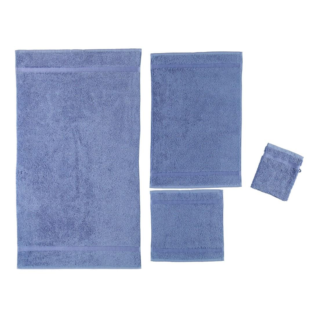 Handtuch Princess - 100% Baumwolle aqua - 78 - Duschtuch: 70 x 130 cm, Rhomtuft