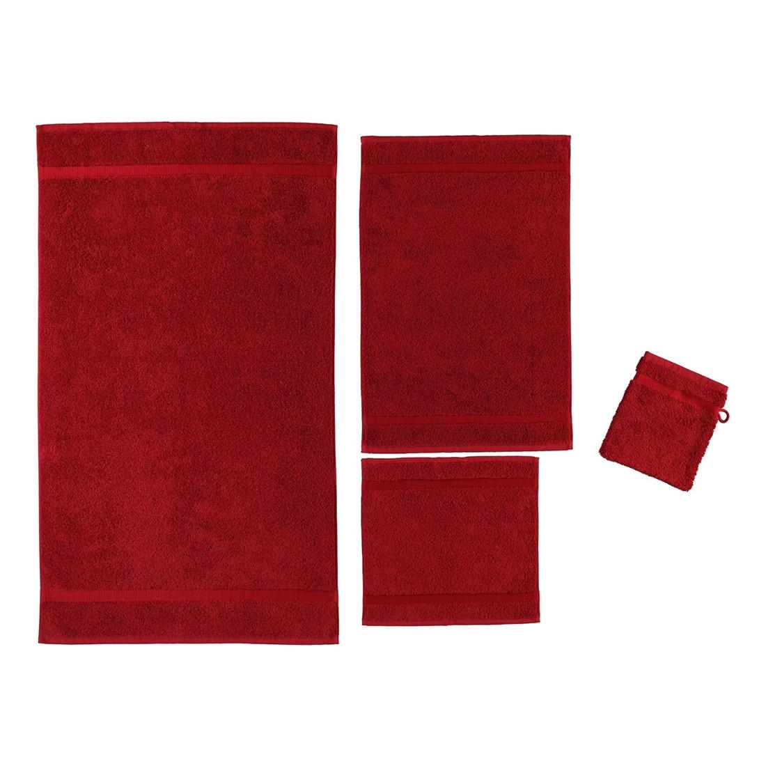 Handtuch Princess – 100% Baumwolle cardinal – 349 – Badetuch: 95×180 cm, Rhomtuft günstig bestellen