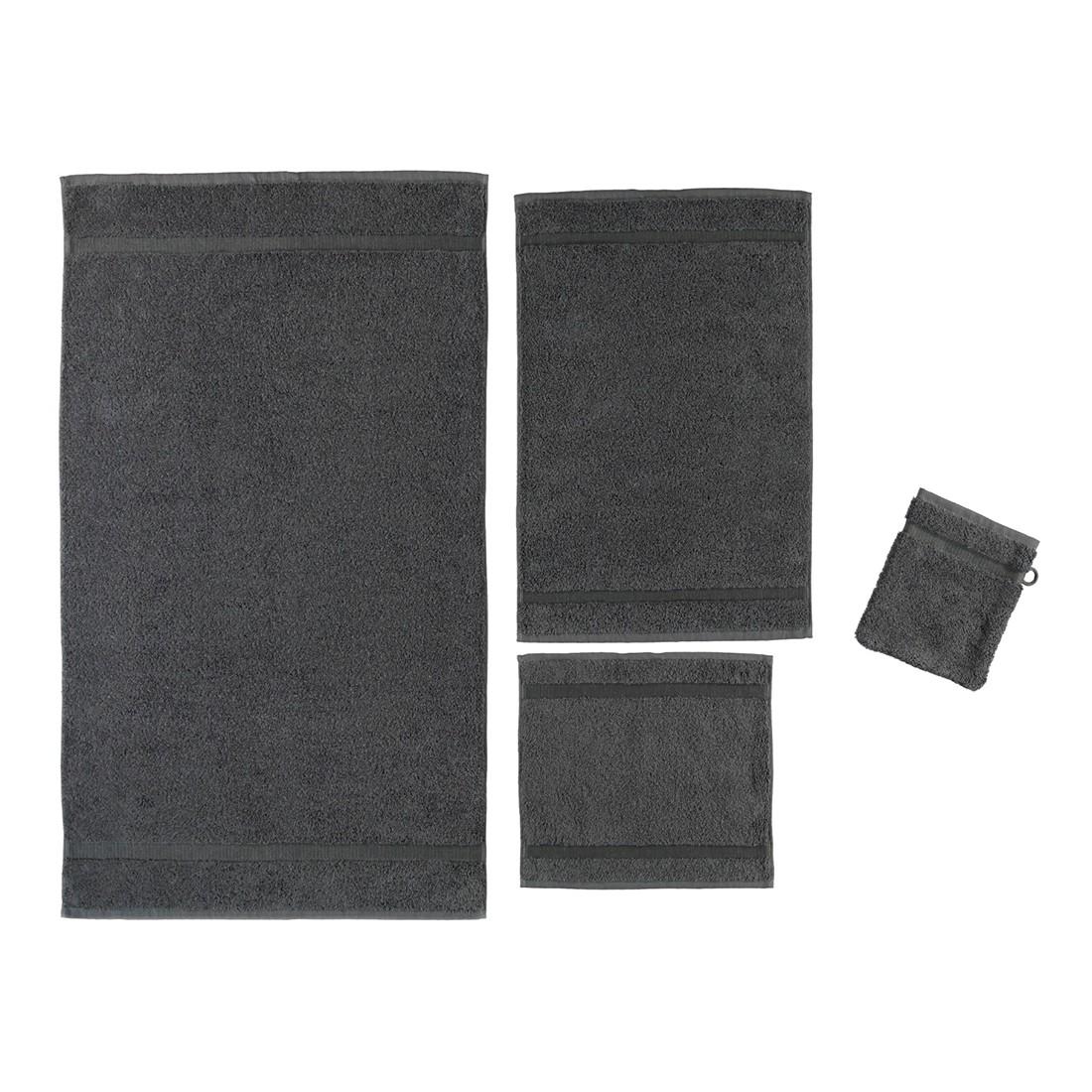Handtuch Princess – 100% Baumwolle kaviar – 344 – Badetuch: 95×180 cm, Rhomtuft jetzt bestellen