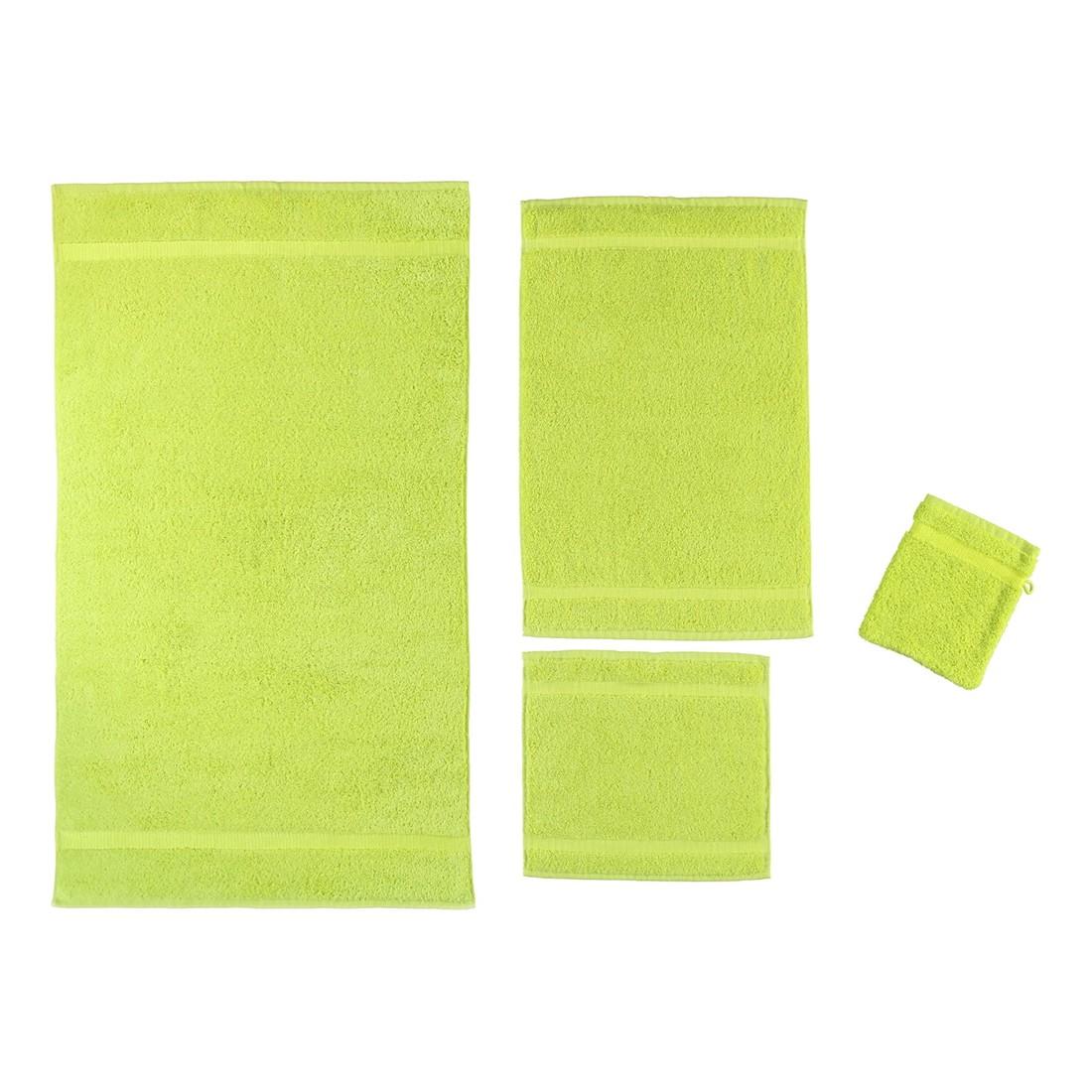 Handtuch Princess – 100% Baumwolle limette – 208 – Badetuch: 95×180 cm, Rhomtuft jetzt kaufen