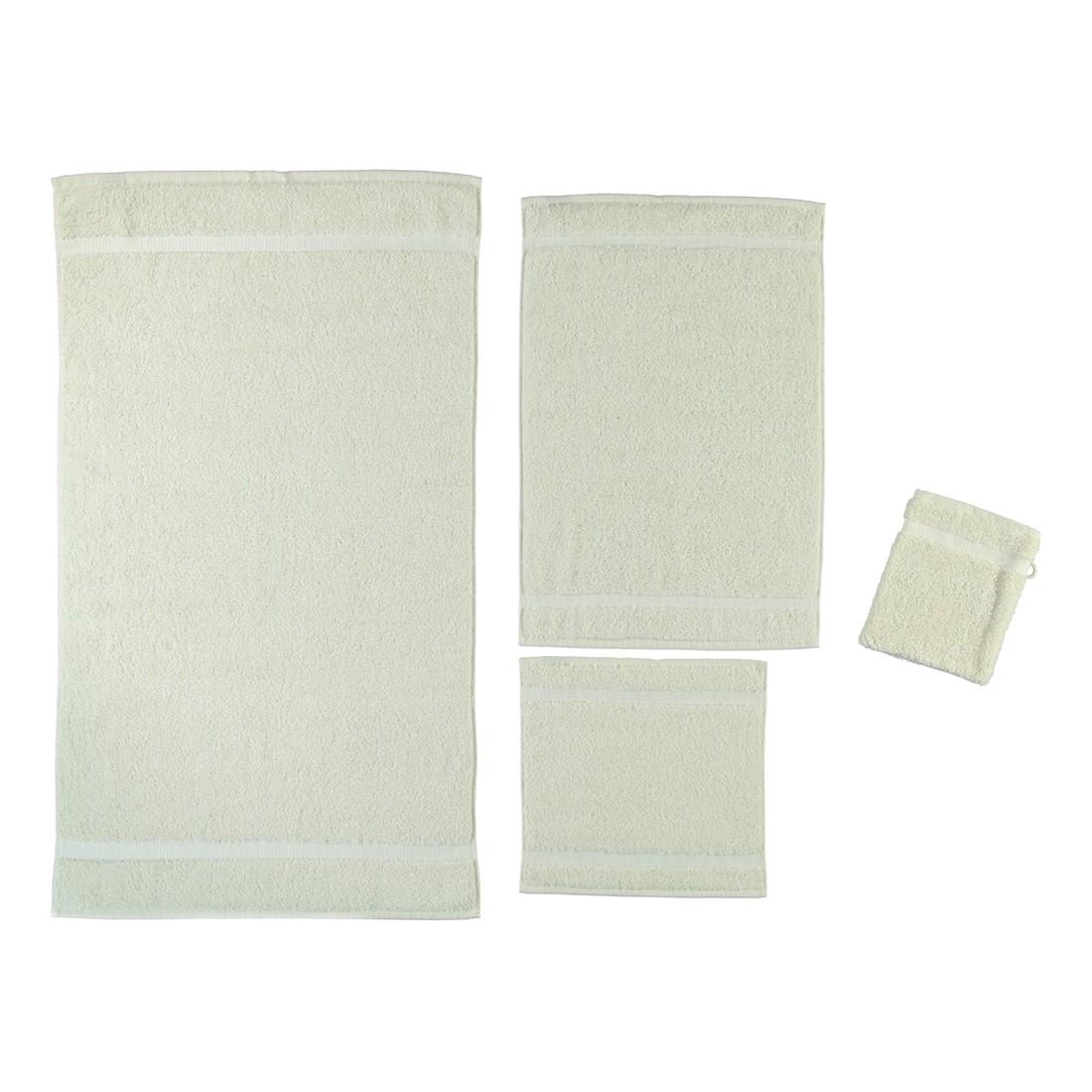 Handtuch Princess – 100% Baumwolle Natur-jasmin – 20 – Seiflappen: 30 x 30 cm, Rhomtuft günstig online kaufen