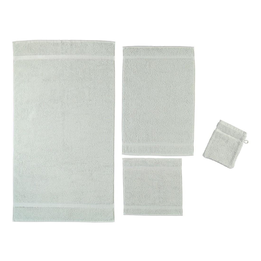 Handtuch Princess – 100% Baumwolle perlGrau – 11 – Seiflappen: 30 x 30 cm, Rhomtuft günstig