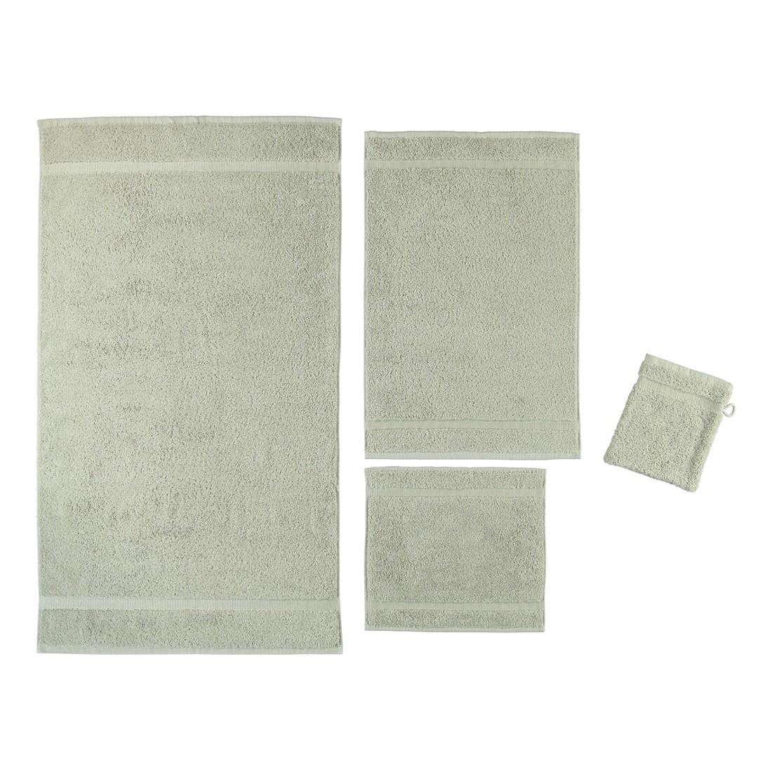 Handtuch Princess – 100% Baumwolle – Stone – 320 – Seiflappen: 30 x 30 cm, Rhomtuft günstig online kaufen