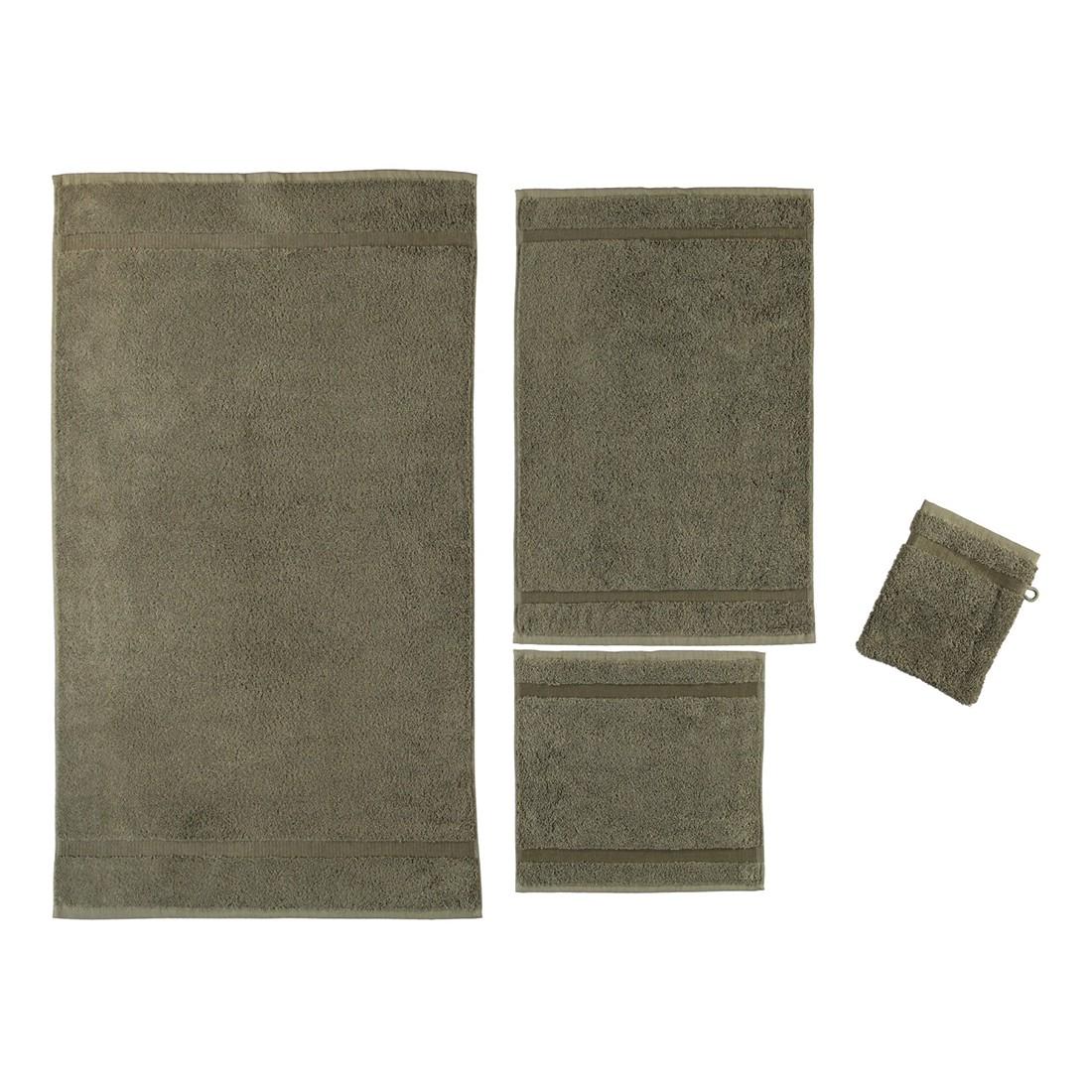 Handtuch Princess – 100% Baumwolle taupe – 58 – Gästetuch: 40 x 60 cm, Rhomtuft jetzt bestellen