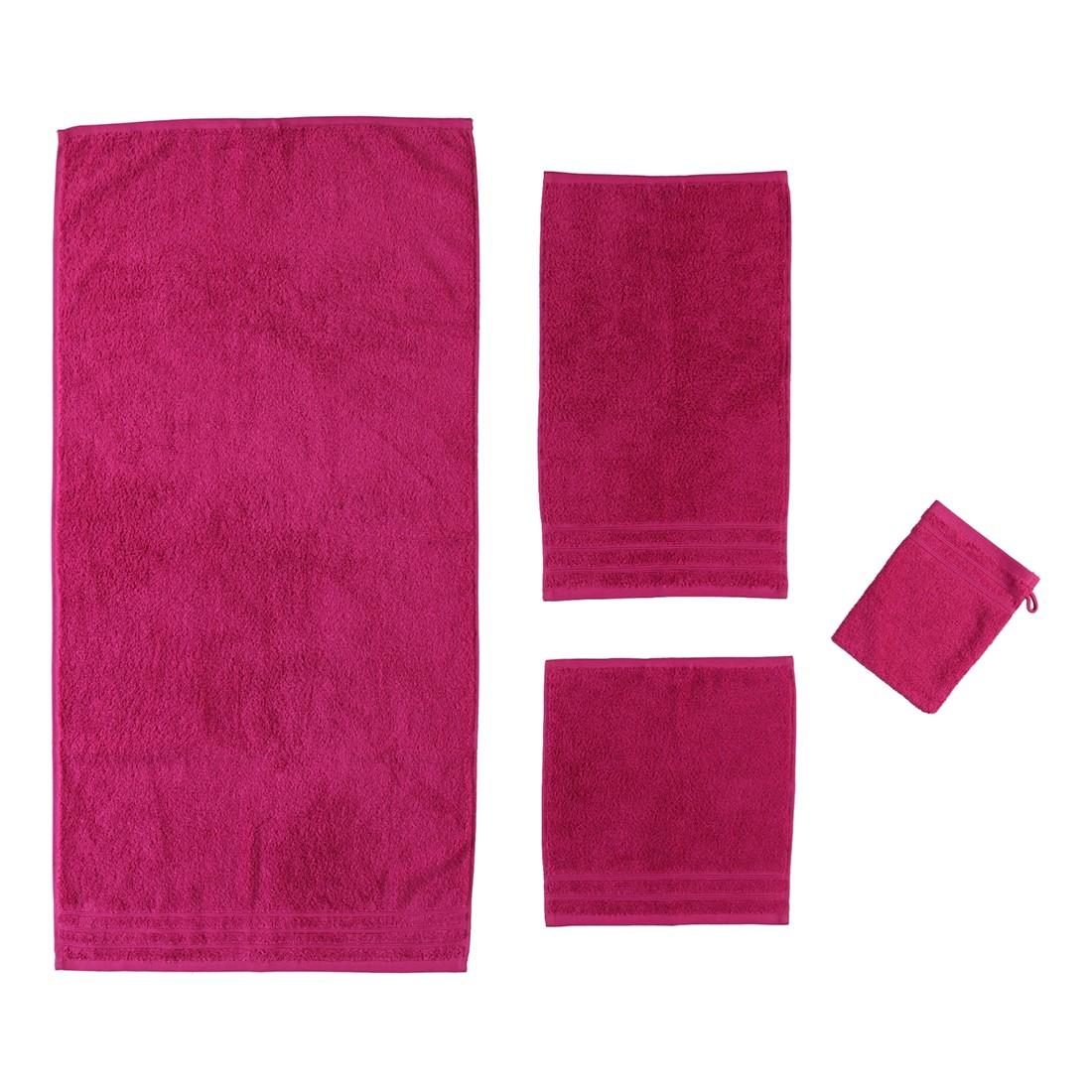 Handtuch Royal – 100% Baumwolle Cranberry – 484 – Gästetuch: 30 x 50 cm, Kleine Wolke günstig bestellen