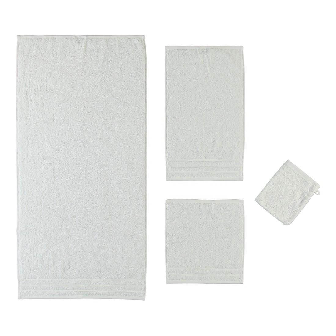 Handtuch Royal – 100% Baumwolle SchneeWeiß – 114 – Duschtuch: 70 x 140 cm, Kleine Wolke günstig bestellen