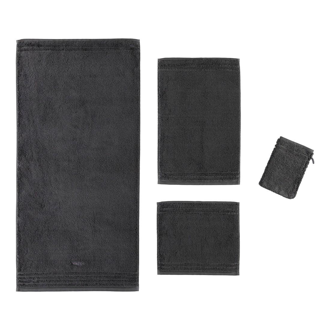 Handtuch Vienna Style Supersoft – 100% Baumwolle – Anthrazit – 770 – Gästetuch: 30 x 50 cm, Vossen kaufen