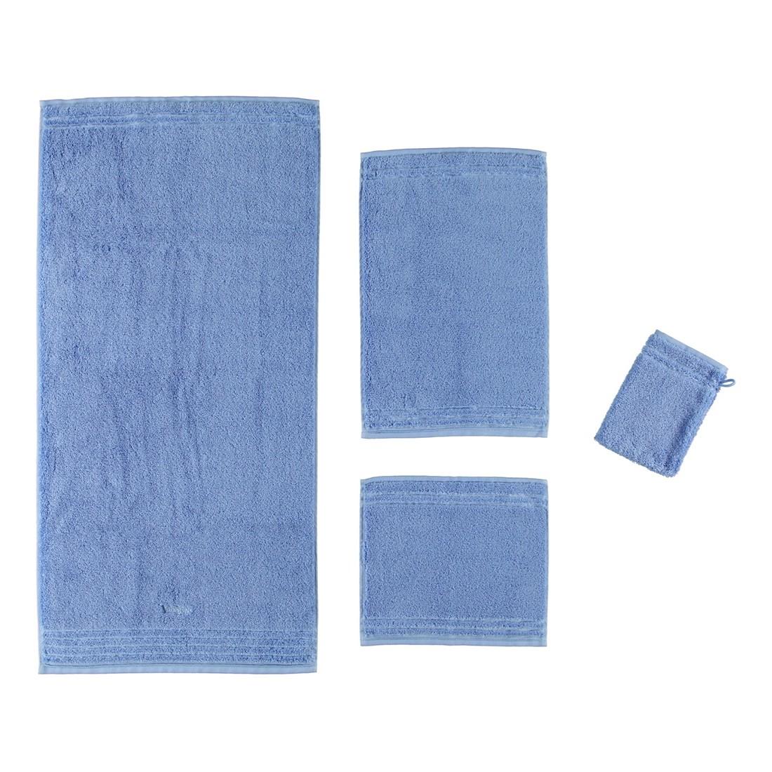 Handtuch Vienna Style Supersoft – 100% Baumwolle steelblue – 441 – Seiflappen: 30 x 30 cm, Vossen online bestellen