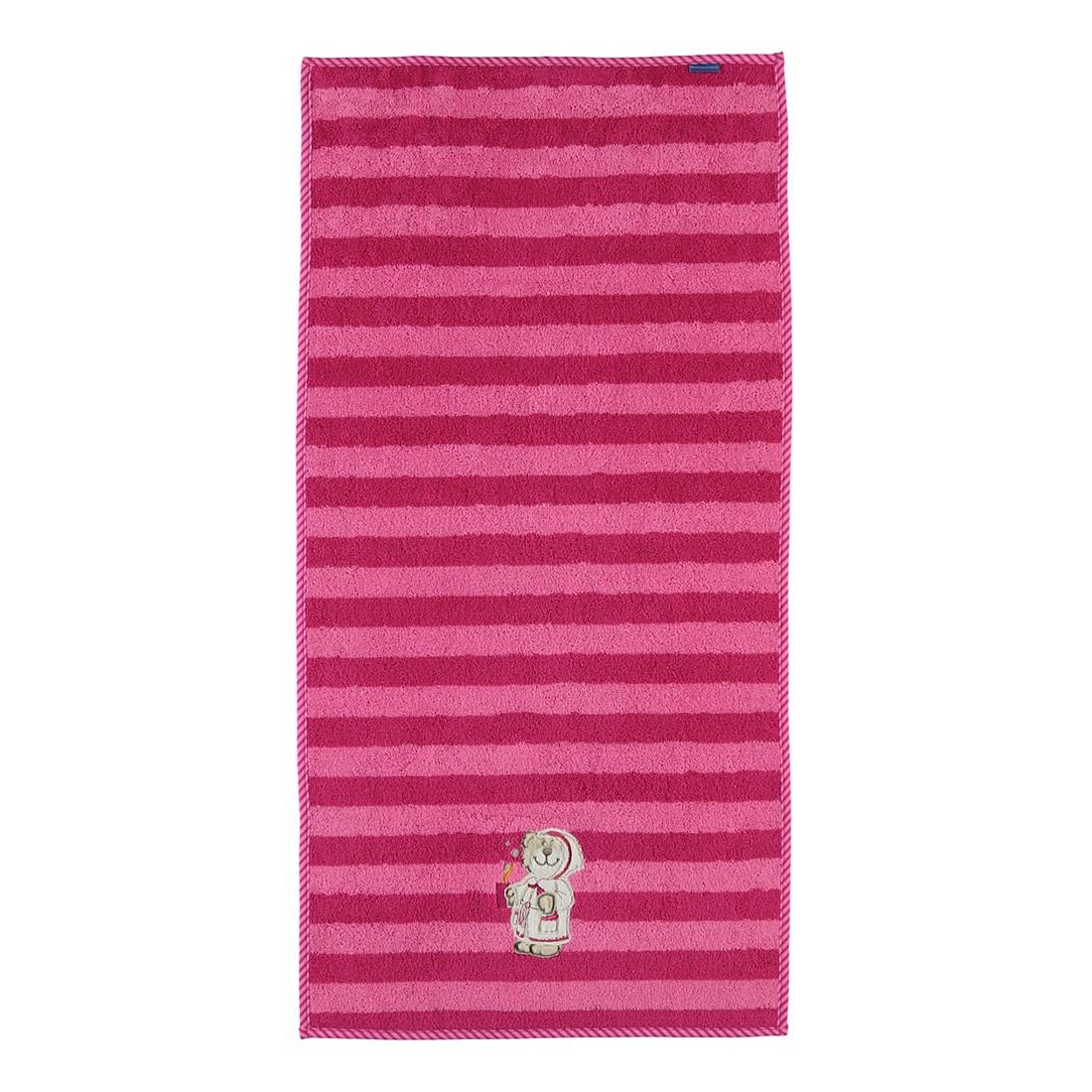 Handtuch Zottelbär – Baumwolle – Rosa, Morgenstern online kaufen