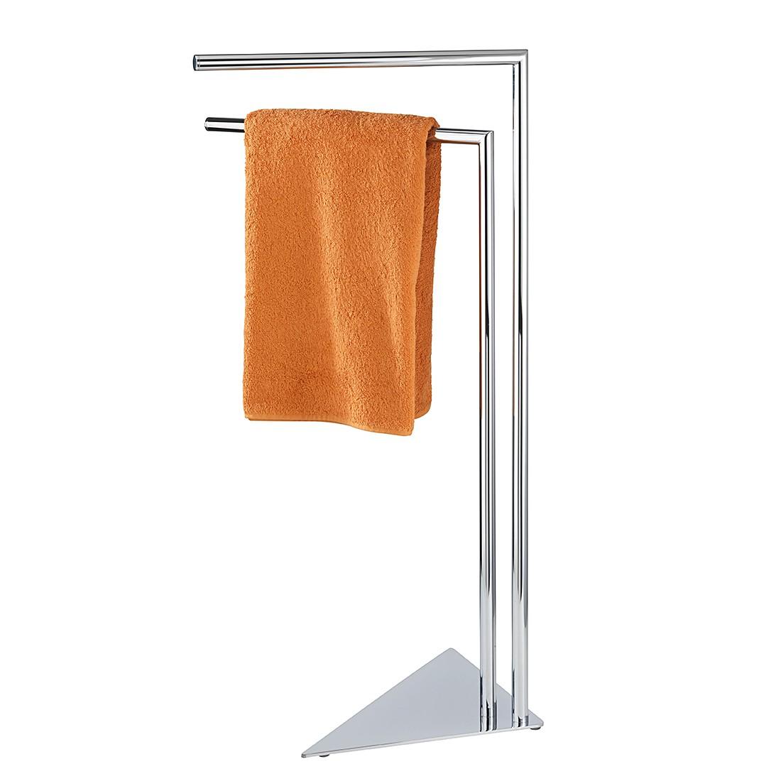 Handtuchständer Torre – Silber glänzend, WENKO online bestellen