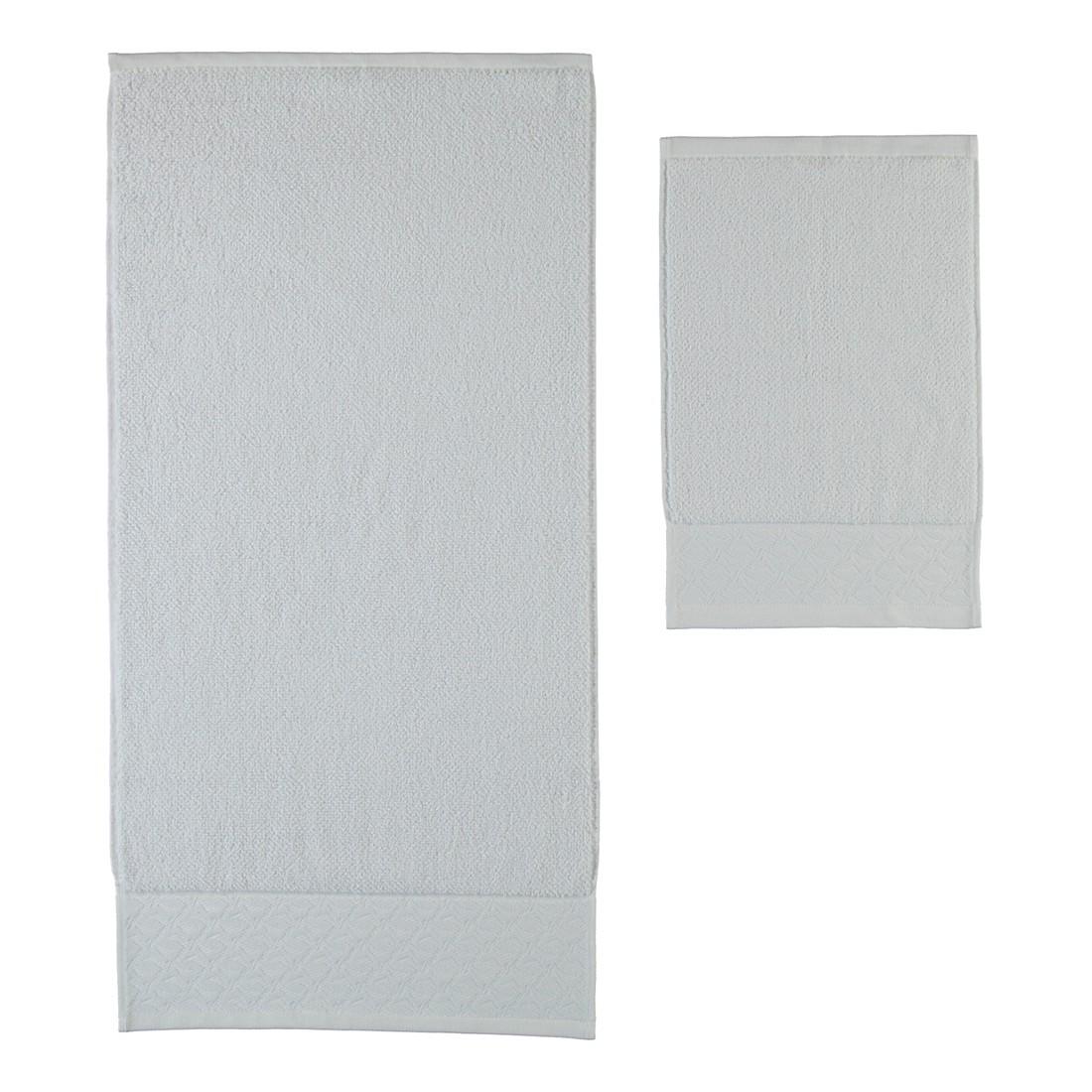 Handtücher Black & White Uni – Baumwolle – Snow – Handtuch 50×100 cm, Möve bestellen