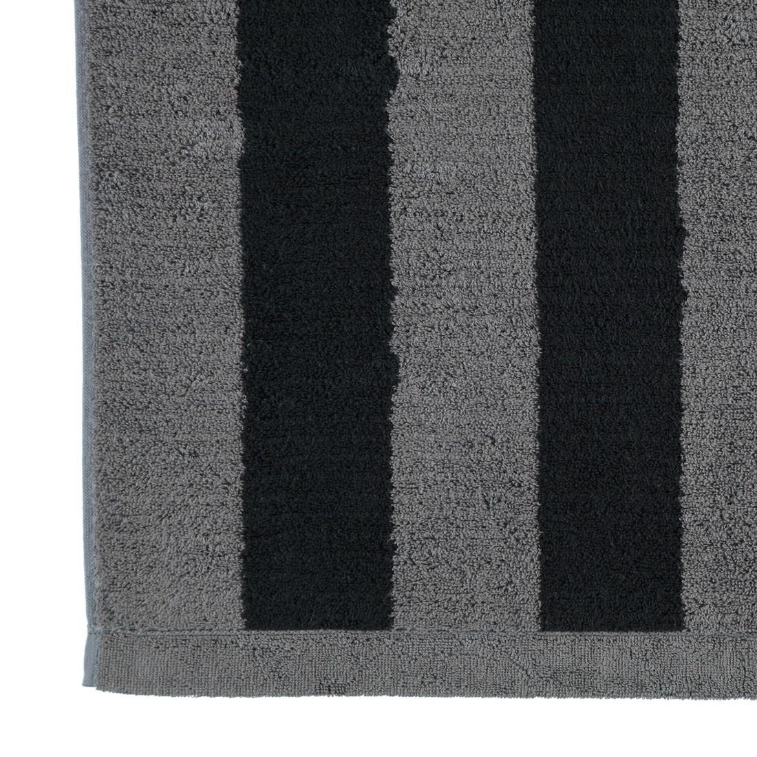 Handtücher Contour Blockstreifen 8081 – Baumwolle – Anthrazit – Handtuch 50×100 cm, Cawö günstig bestellen