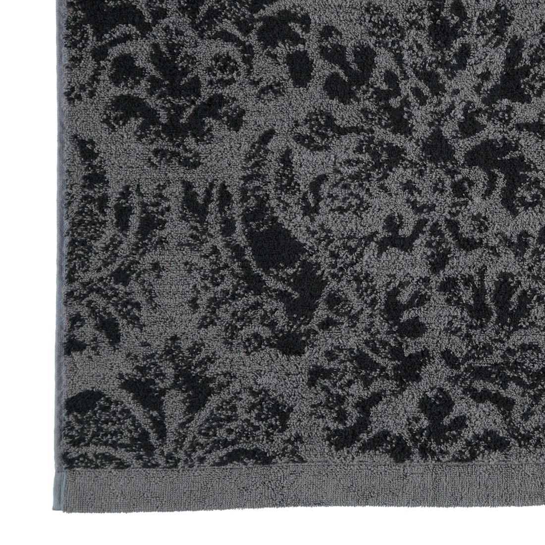 Handtücher Contour Jacquard 8082 – Baumwolle – Anthrazit – Gästetuch 30×50 cm, Cawö jetzt kaufen