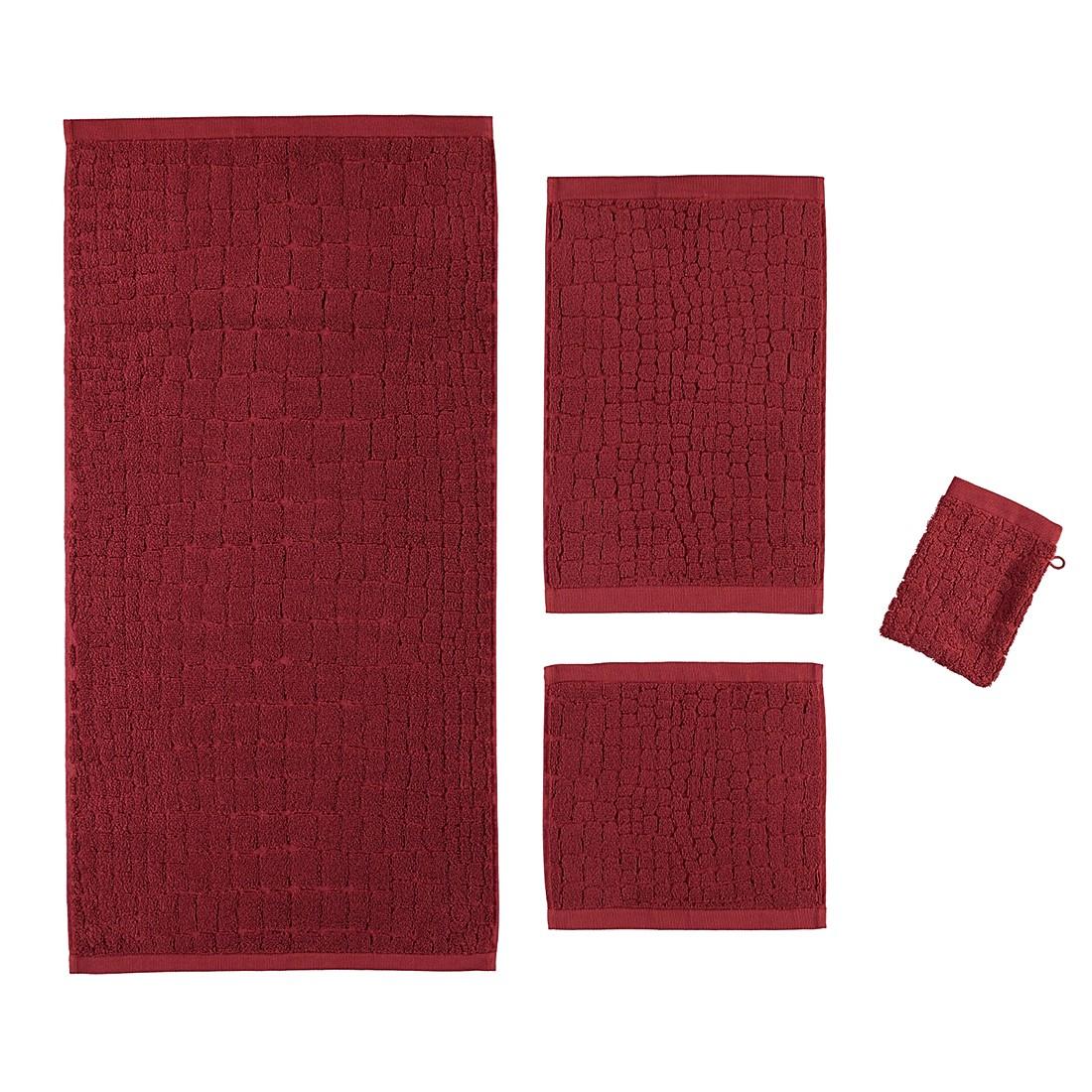 Handtuch Croco – 100% Baumwolle marsala – 720 – Handtuch: 50 x 100 cm, Möve online bestellen