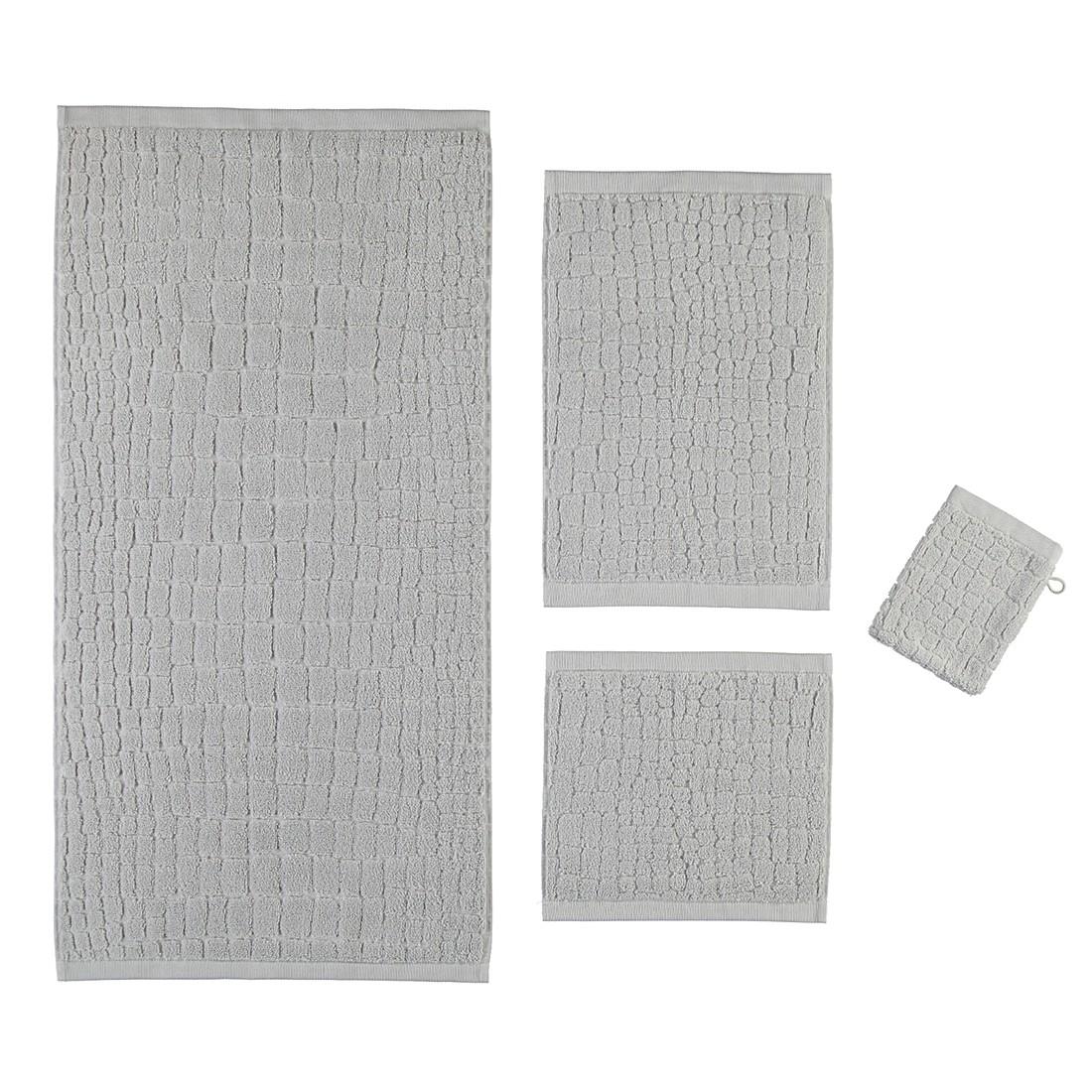 Handtuch Croco – 100% Baumwolle moonlight – 830 – Seiflappen: 30 x 30 cm, Möve günstig