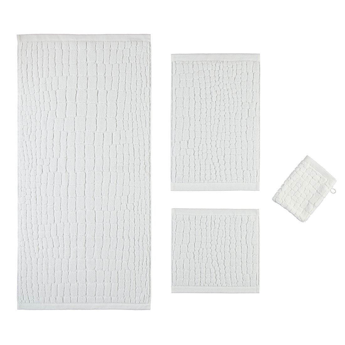 Handtuch Croco – 100% Baumwolle snow – 001 – Duschtuch: 80 x 150 cm, Möve online kaufen