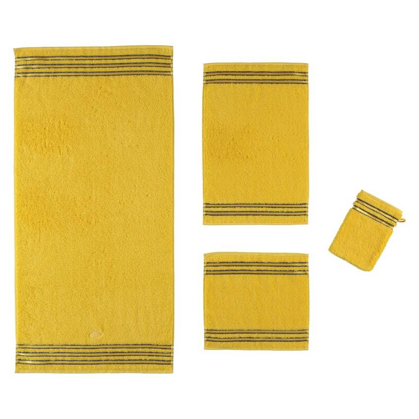 Handtuch Cult de Luxe – 100% Baumwolle sunflower – 146 – Gästetuch 30 x 50 cm, Vossen online kaufen