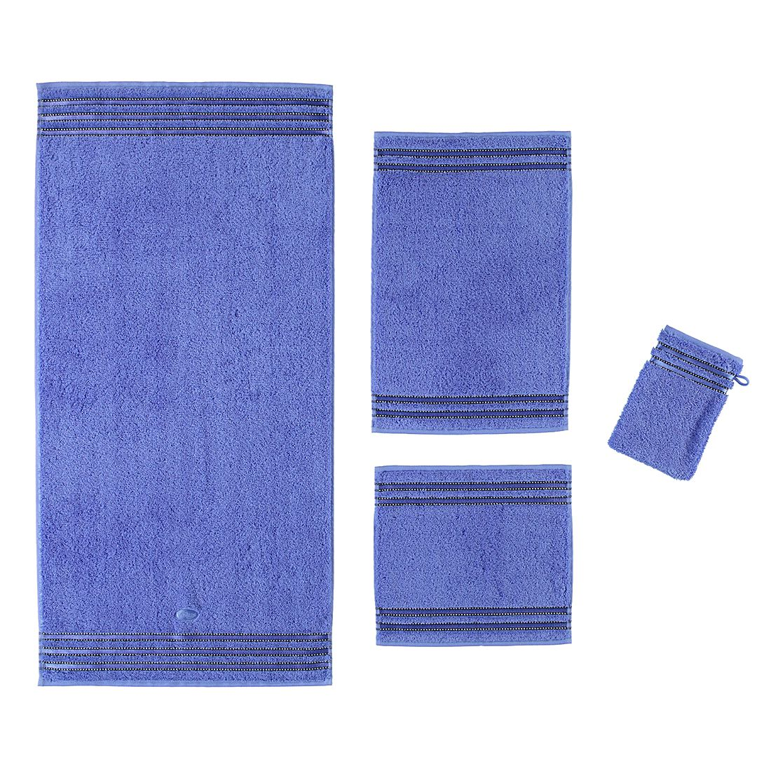 Handtücher Cult de Luxe – Baumwolle – Kornblume – Gästetuch 30×50 cm, Vossen günstig online kaufen