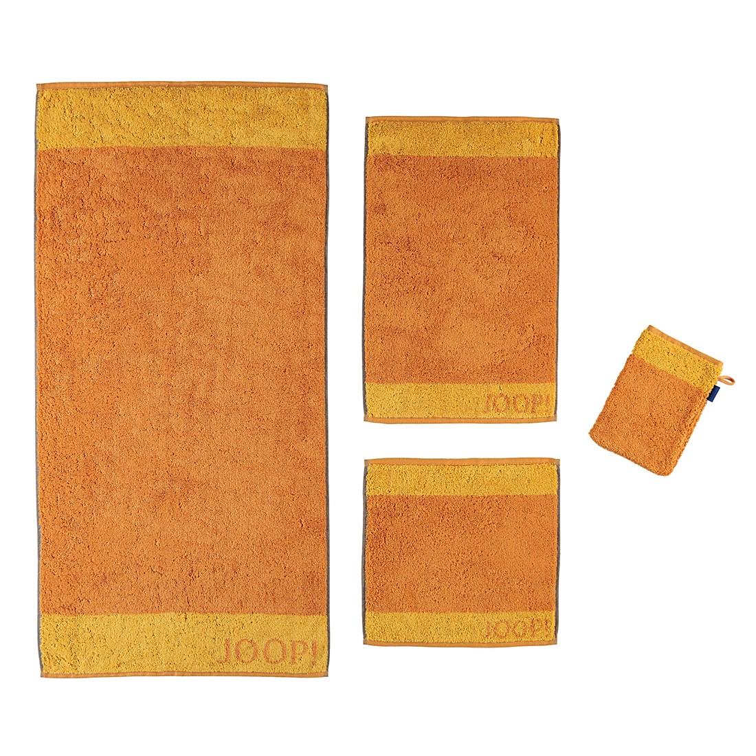 Handtücher Graphic Doubleface 1634 – Baumwolle – Cognac – Gästetuch 30×50 cm, Joop jetzt kaufen