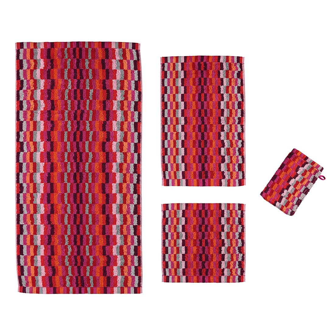 Handtücher Life Style Flash Karo 7064 – Baumwolle – Pink – Handtuch 50×100 cm, Cawö günstig kaufen