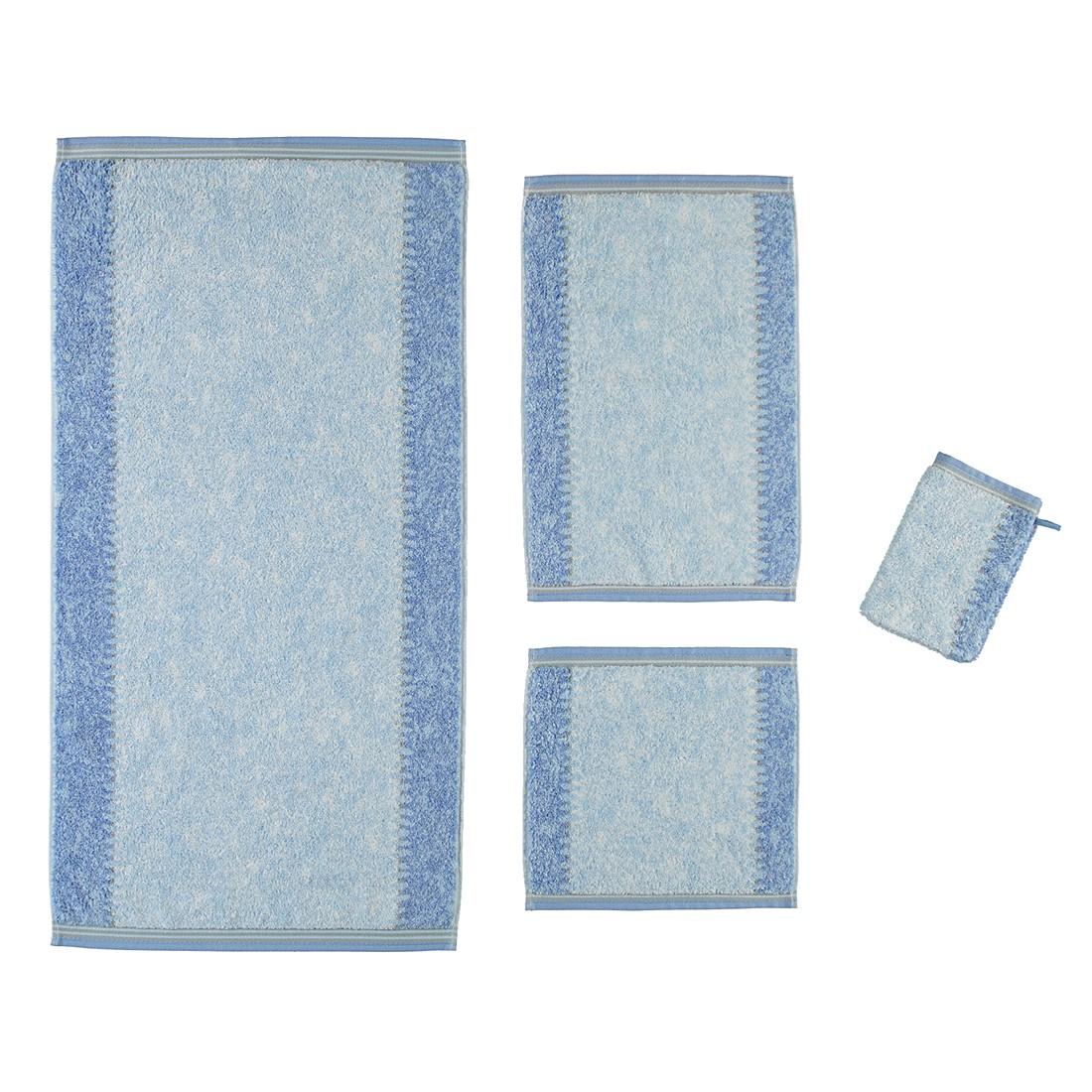 Handtücher Marmor 735 – Baumwolle – Blau – Gästetuch 30×50 cm, Cawö günstig online kaufen