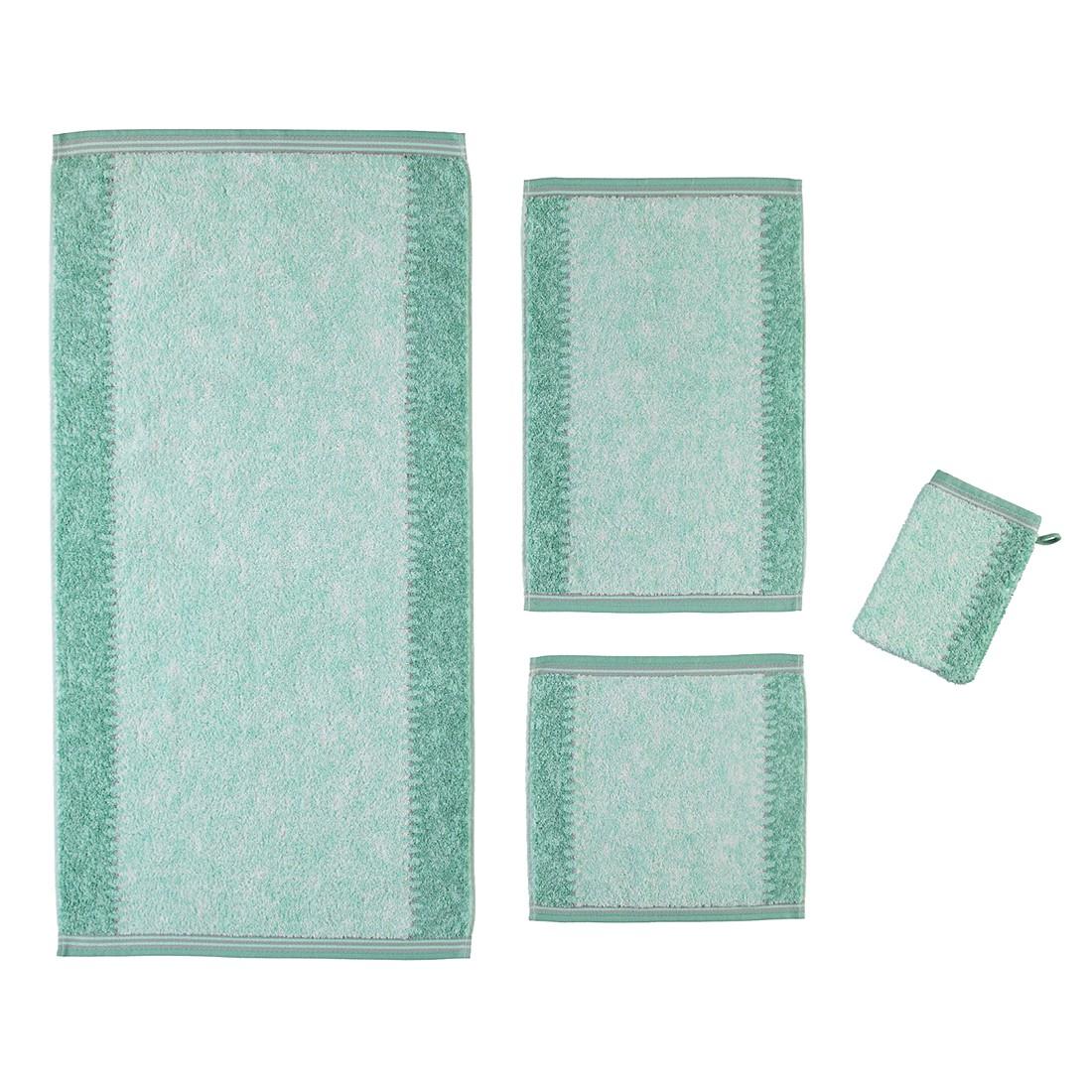 Handtücher Marmor 735 – Baumwolle – Mint – Handtuch 50×100 cm, Cawö online kaufen
