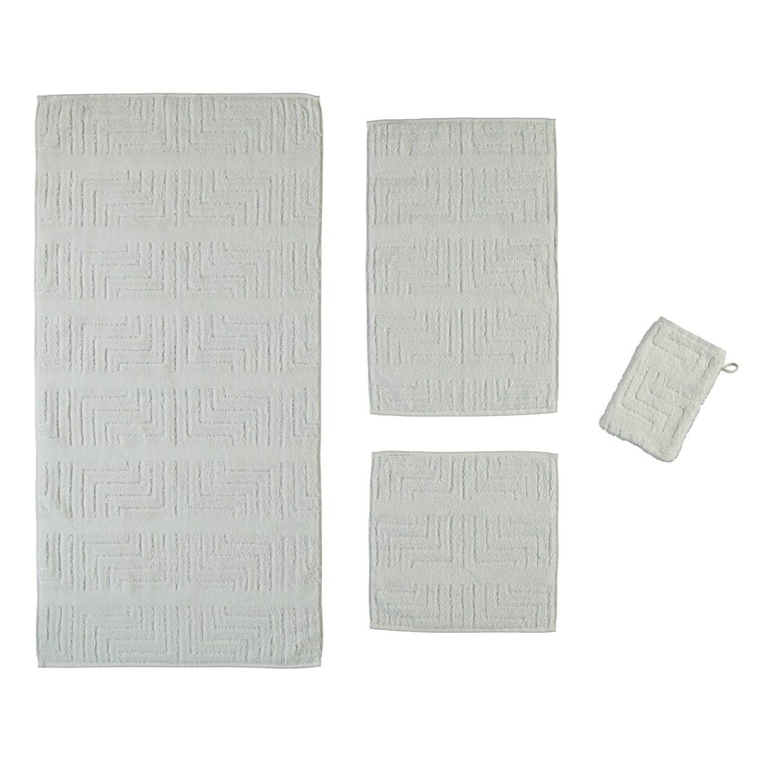 Handtücher Noblesse Decor Struktur 1065 – Baumwolle – Weiß – Handtuch 50×100 cm, Cawö online kaufen