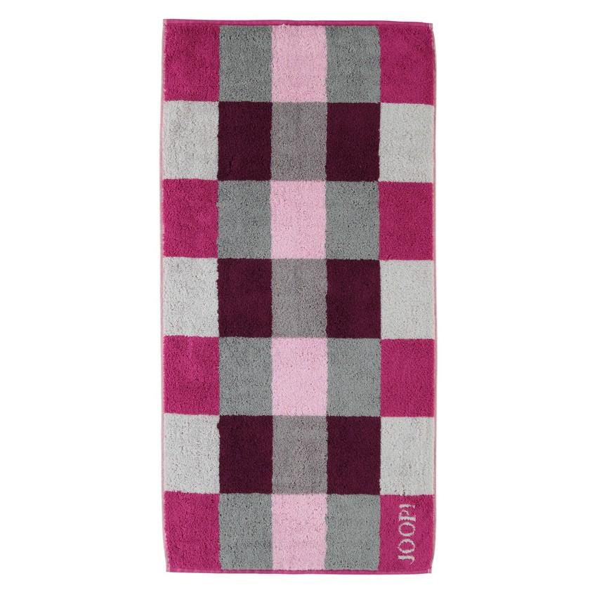 Handtuch Plaza Squares 1632 – 100% Baumwolle cassis – 22 – Handtuch 50 x 100 cm, Joop günstig online kaufen