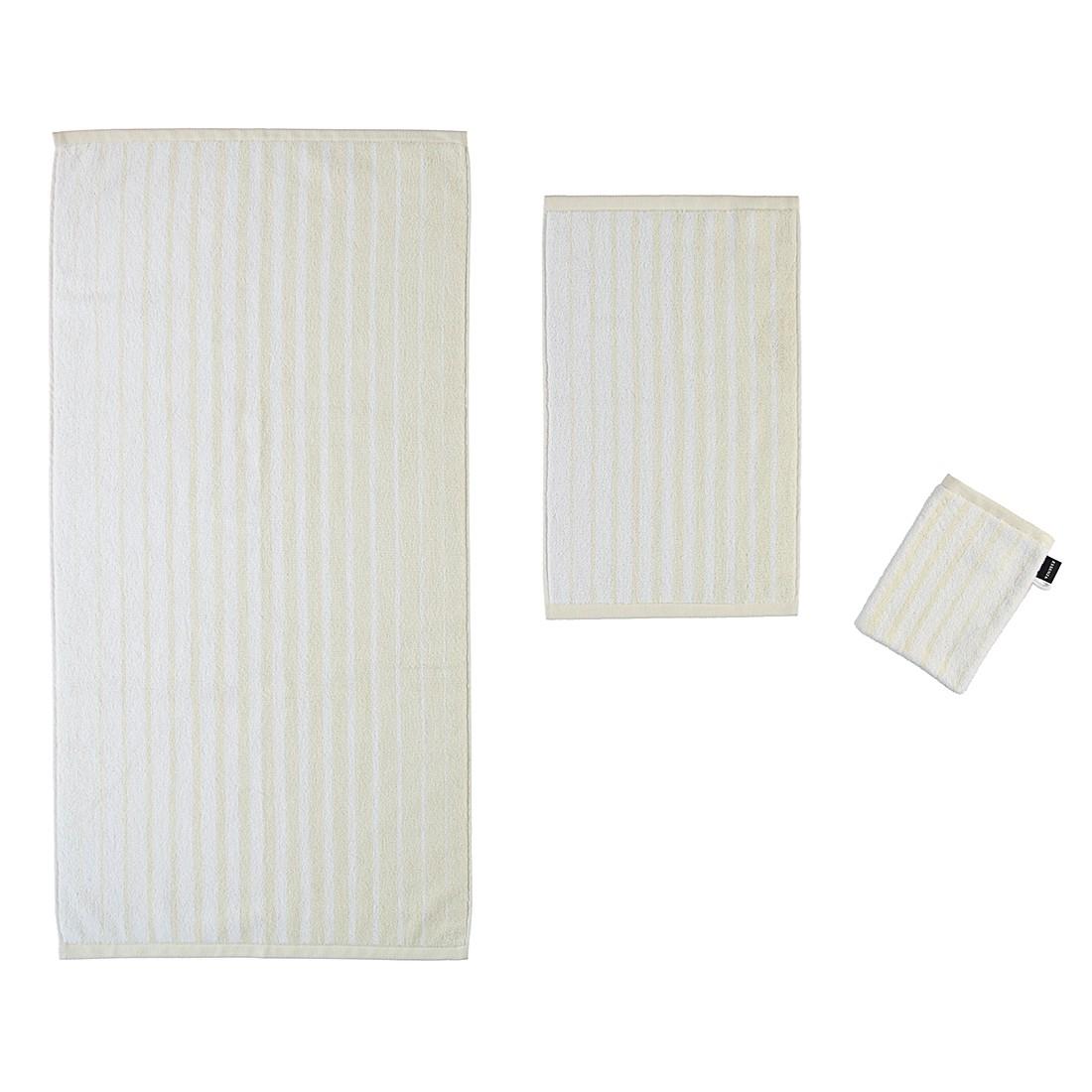 Handtücher Pure Stripe – Baumwolle – Oyster – Handtuch 55×100 cm, Essenza online bestellen