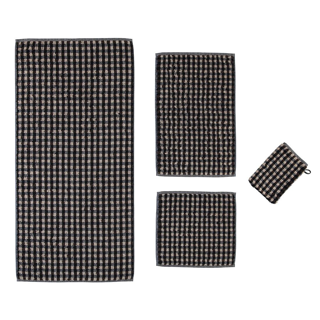 Handtücher Puro Allover 531 – Baumwolle – Marone – Waschhandschuh 16×22 cm, Cawö günstig online kaufen