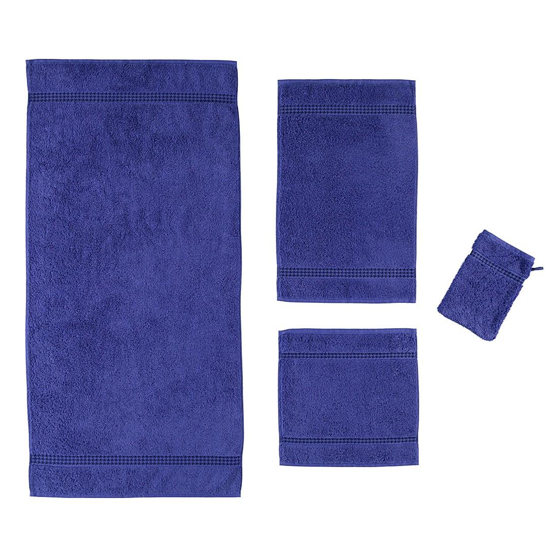 handt cher selection uni 4010 baumwolle saphir duschtuch 70x140 cm caw g nstig. Black Bedroom Furniture Sets. Home Design Ideas