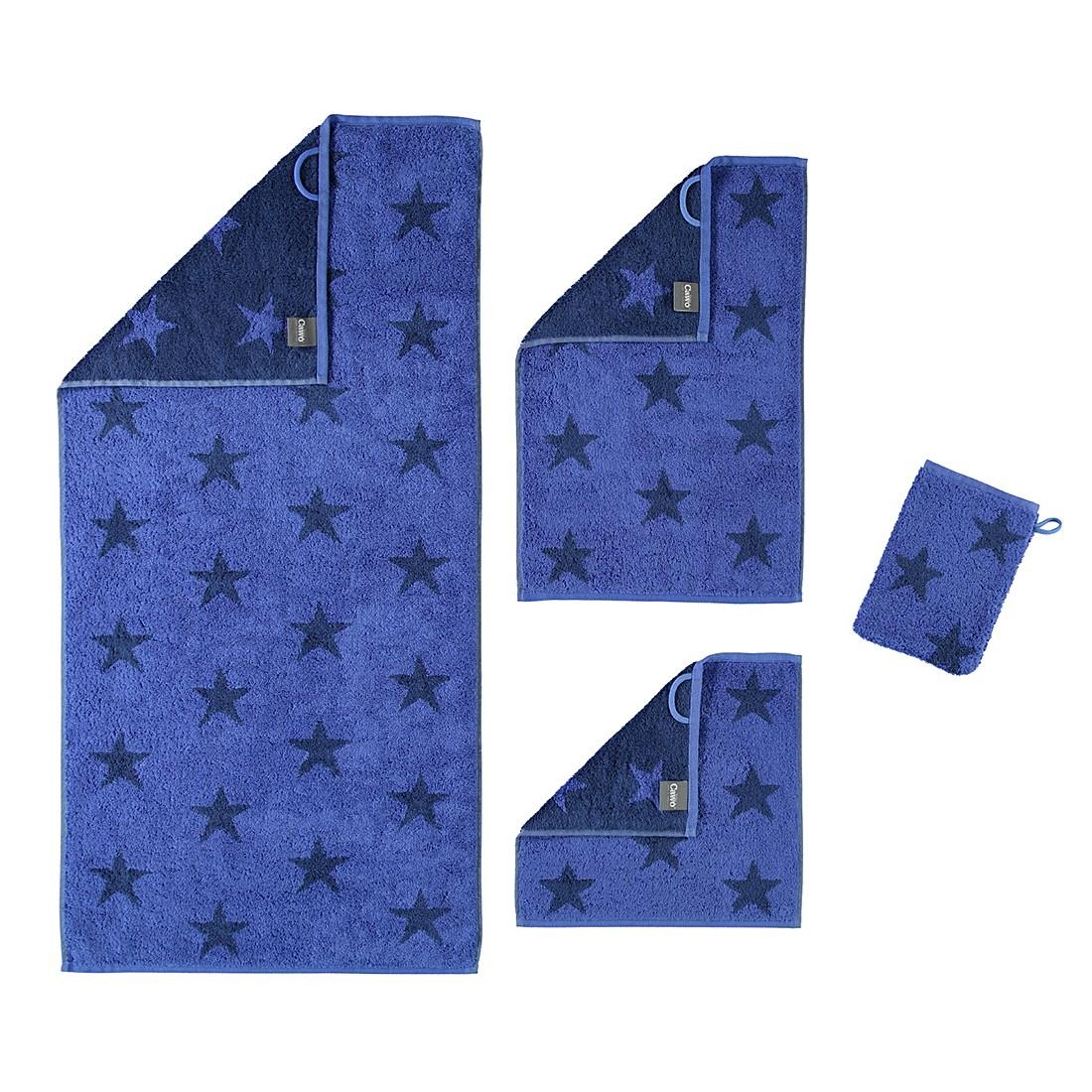 handt cher stars 525 baumwolle blau seiflappen 30x30 cm caw g nstig online kaufen. Black Bedroom Furniture Sets. Home Design Ideas