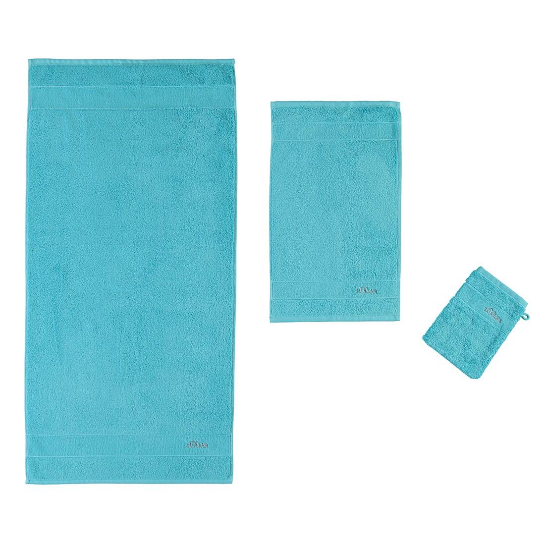 Handtücher Uni 3700 – Baumwolle – Türkis – Duschtuch 70×140 cm, s.Oliver jetzt bestellen