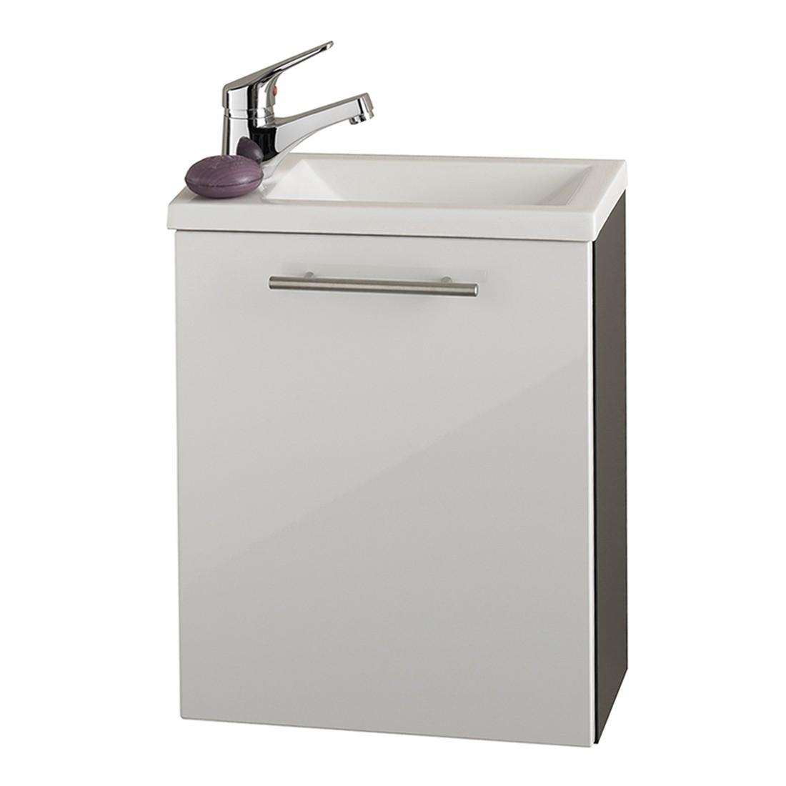 Handwaschplatz Alvaro – Anthrazit-Weiß, Aqua Suite kaufen