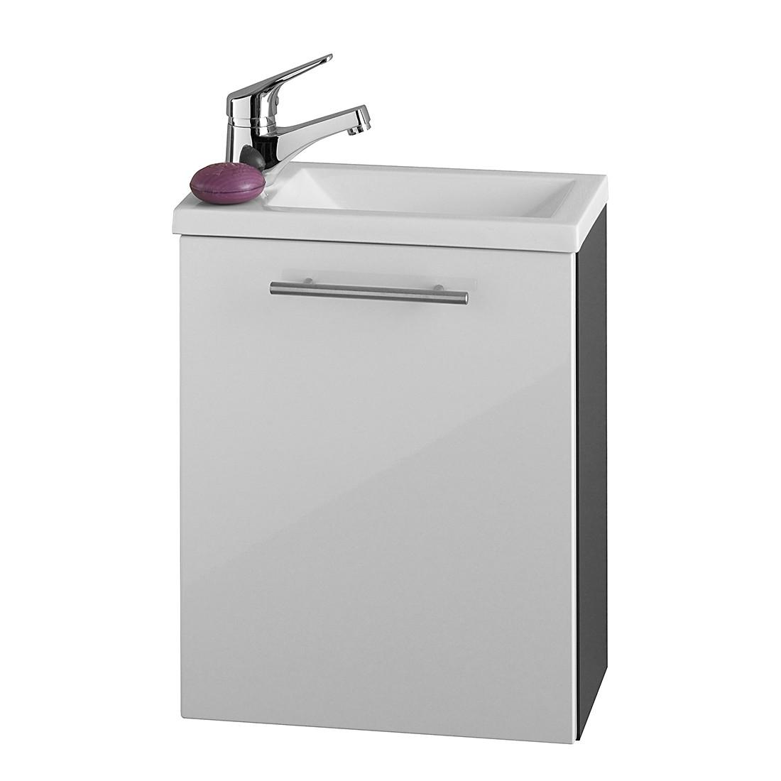 Handwaschplatz Alvaro hgl.-Front – Anthrazit-Weiß, Aqua Suite jetzt kaufen