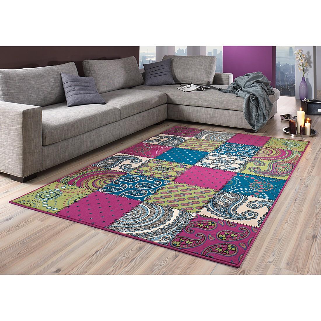 Teppich Prime Pile – Grün/Lila – 70 x 140 cm, Hanse Home Collection günstig kaufen