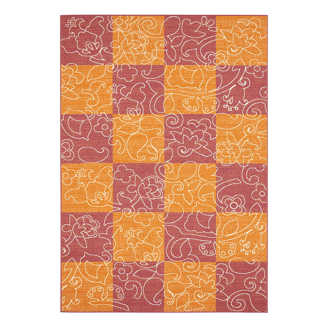 Teppich Hamla – Orange/Lila – 80 x 150 cm, Hanse Home Collection bestellen