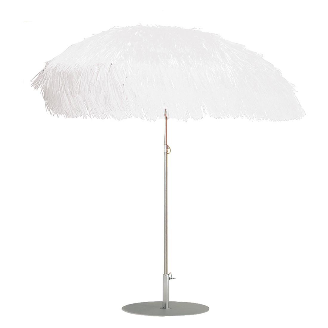Sonnenschirm Hawaii mit Knickgelenk - Stahlrohr Weiß, Jan Kurtz